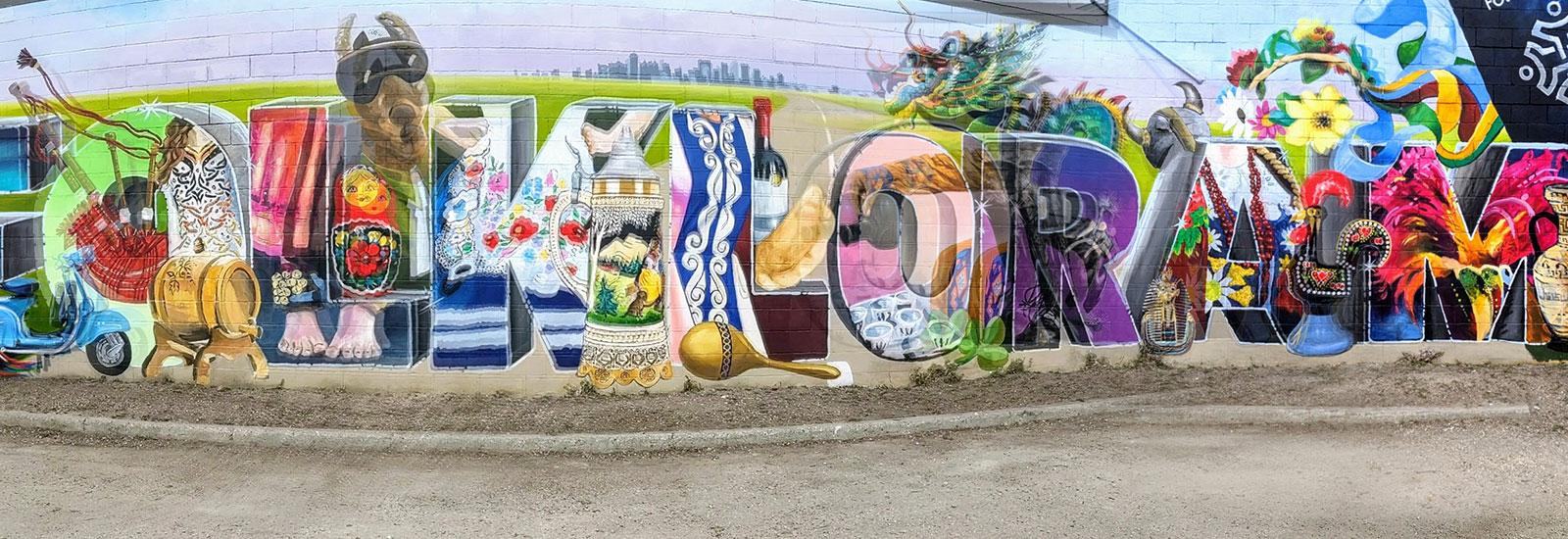 Folklorama mural